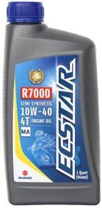 Suzuki-ECSTAR-R7000-Motorcycle-Semi-Synthetic-Engine-Oil-10W40-1-Quart