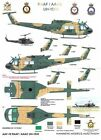 1/72 RAAF/Army Decals; Bell UH-1D/H 'Huey' Iroquois
