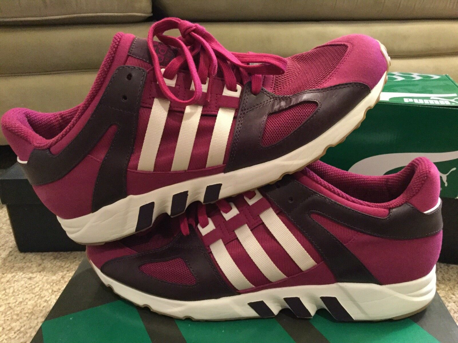 Adidas Originals EQT 93 Equipment Running Guidance Berry-M25501 Size 13
