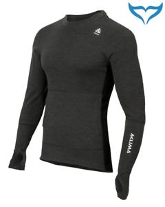ACLIMA-warmwool-hood-sweater-Marengo-JET-BLACK-Merino-Wool-200g-S-XXL-Uomo-Man
