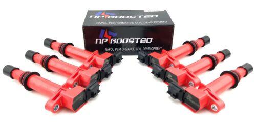 6 Performance Ignition Coil Packs Jeep Grand Cherokee Mitsubishi Raider 3.7L V6