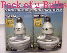 2 x 135W 6500K Daylight Light bulbs - FREE USA SHIPPING sunlight CFL lightbulbs