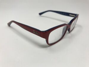 f4fc274d16 Ray Ban Eyeglasses Kids Youth RB 1527 3577 47-15-135 Dark Red Navy ...