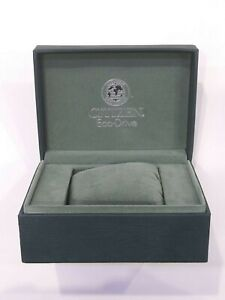 CITIZEN-Original-Eco-Drive-green-Watch-Box-Storage-Case-with-matching-pillow