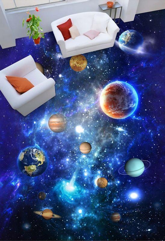 3D space universe art 477 Floor WallPaper Murals Wall Print Decal 5D AJ WALLPAPE