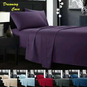 Egyptian-Comfort-Sheets-Hotel-Luxury-1800-Count-4-PCS-Deep-Pocket-Bed-sheet-Set
