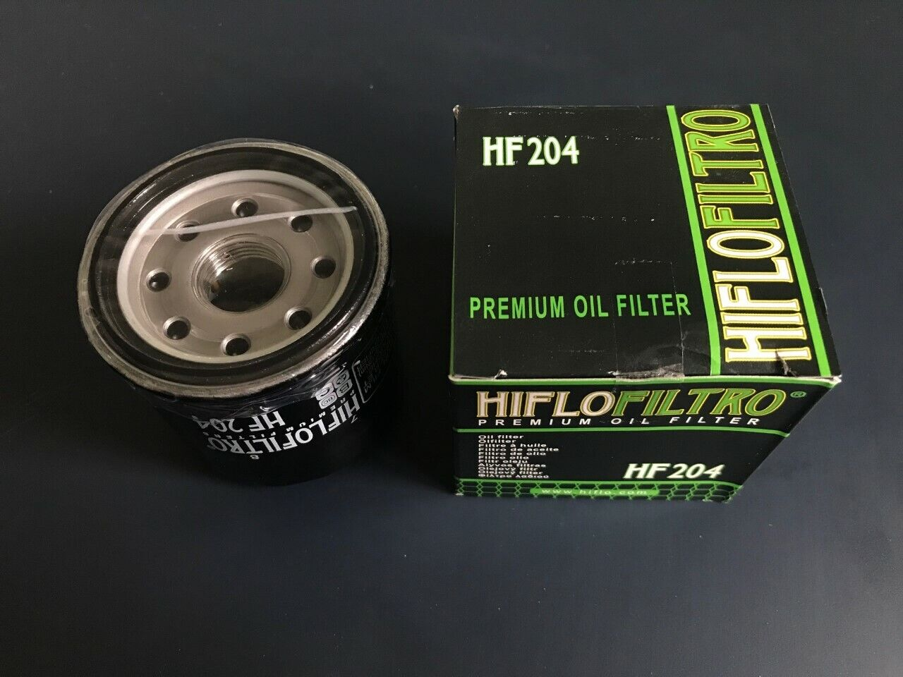 Engine Filter Oil Filter HF204 for Honda NC750 S DCT 2014 to 2016