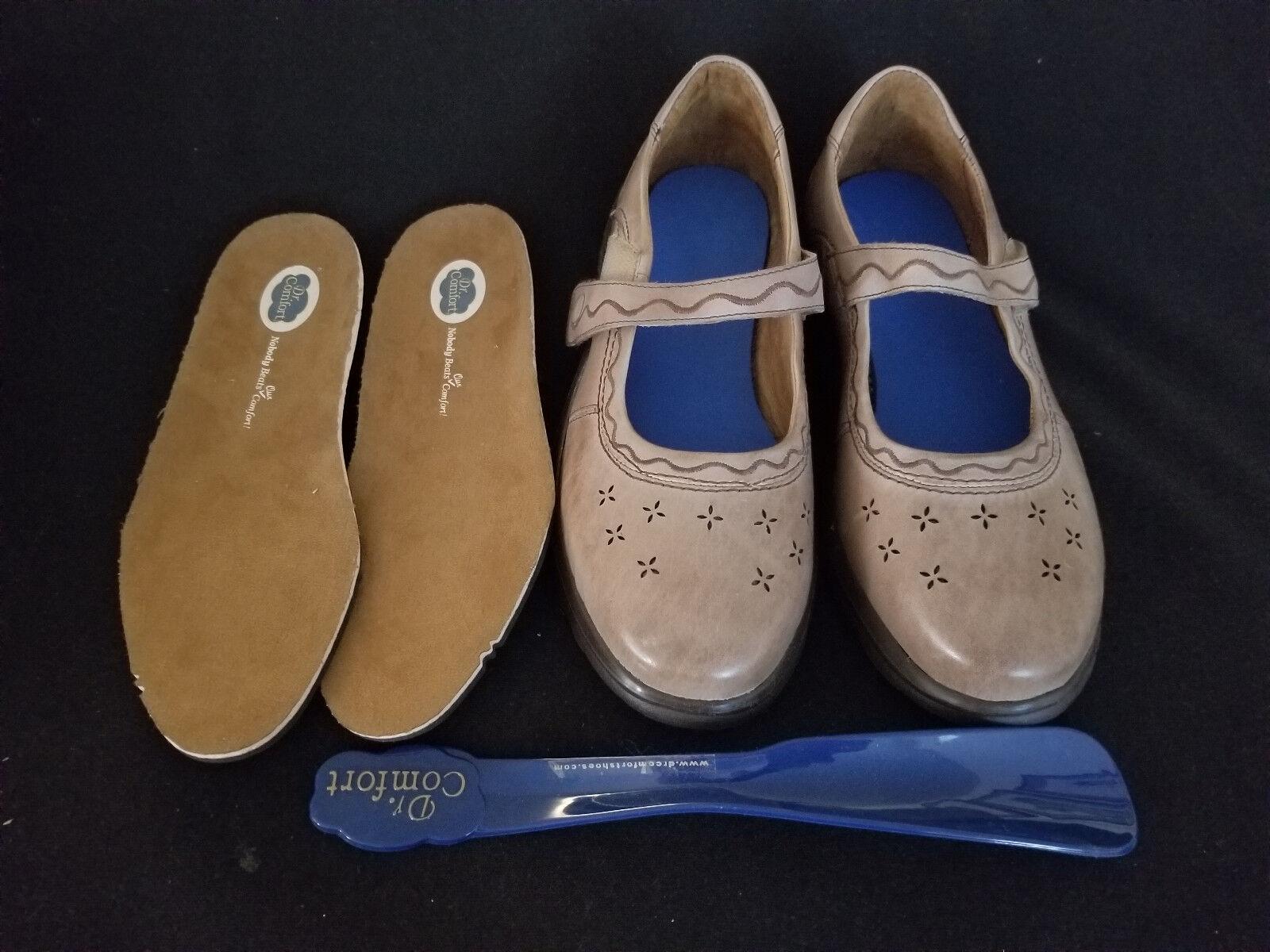 Dr. Comfort Wouomo scarpe Marronee 6W  2230 Sunshine New w Insoles, scarpe Horn & Box