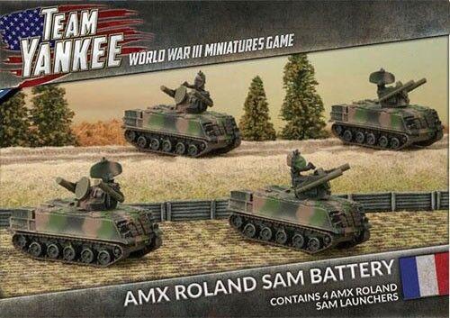 Team Yankee TFBX06 - WWIII Miniatures Game - AMX Roland SAM Battery