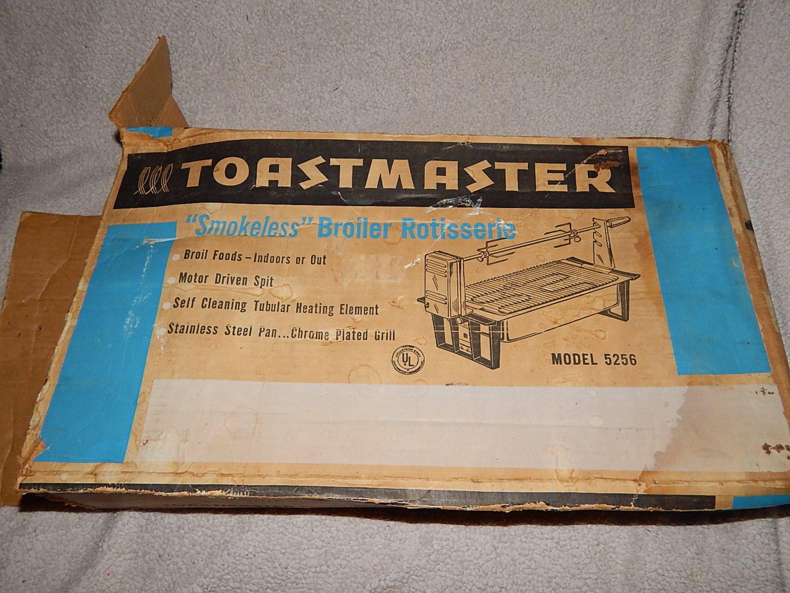 Vintage Toastmaster  sans fumée  Poulets à griller, modèle 5256