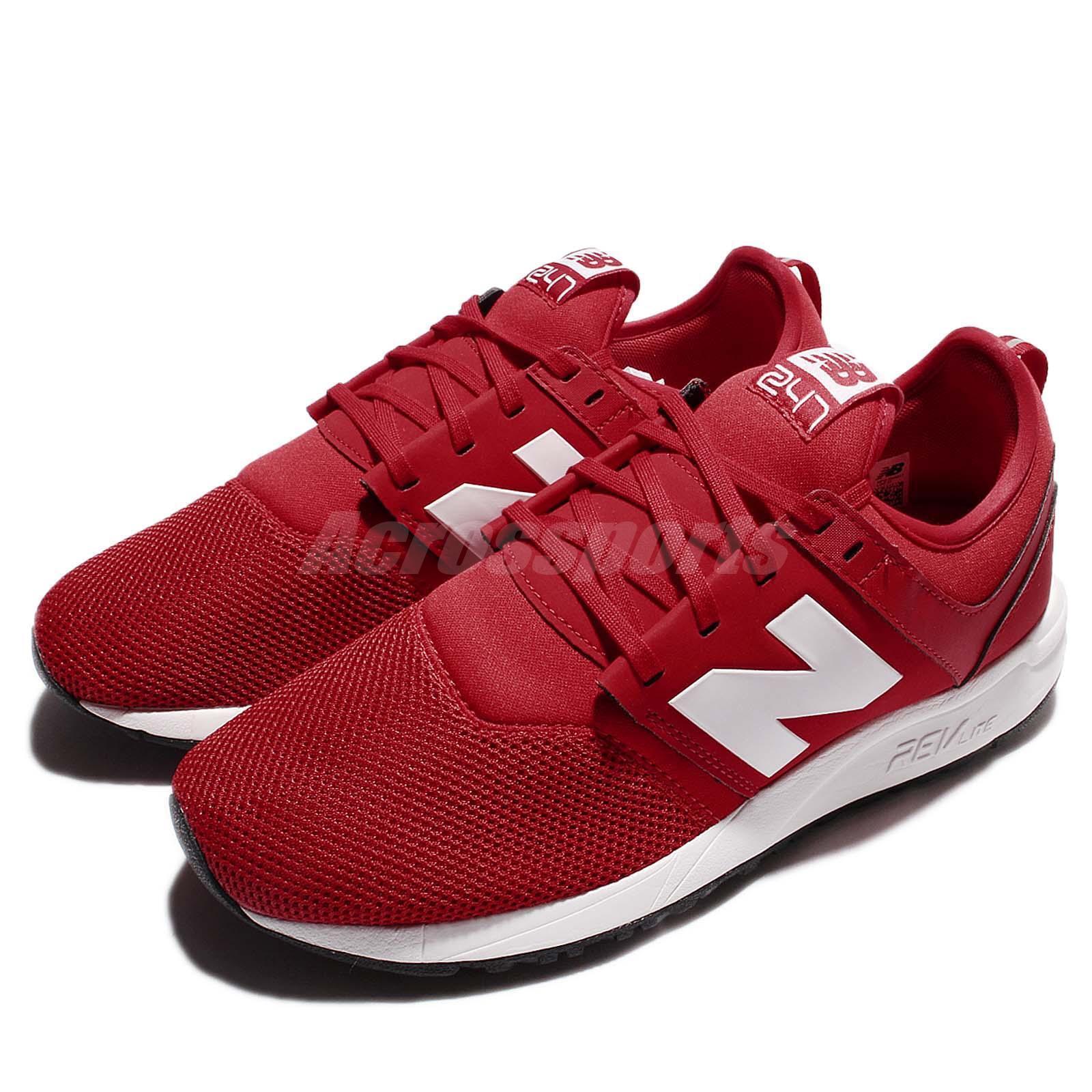 New Balance MRL247RW D rosso Lifestyle Men Running scarpe scarpe da ginnastica MRL247RWD
