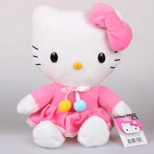 30Cm-Licensed-Sanrio-Hello-Kitty-Dress-Plush-Toys-Soft-Stuffed-Animal-Doll