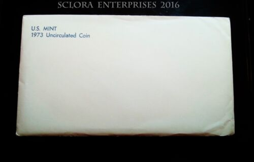1973 Mint Set Envelope ONLY  **FREE SHIPPING**