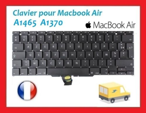 "Clavier MacBook Air 11"" A1370 A1465 FR Clavier AZERTY"