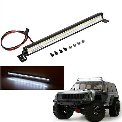 4LED Spotlight Roof Light Bar For TRX-4 SCX10 D90 Wraith D110 1//10 RC Crawler