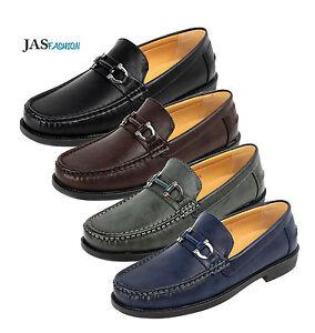 8cc117e5c8a27 Chargement de l image en cours Homme-Design-Chaussures -a-Enfiler-Mode-Elegant-Mocassin-