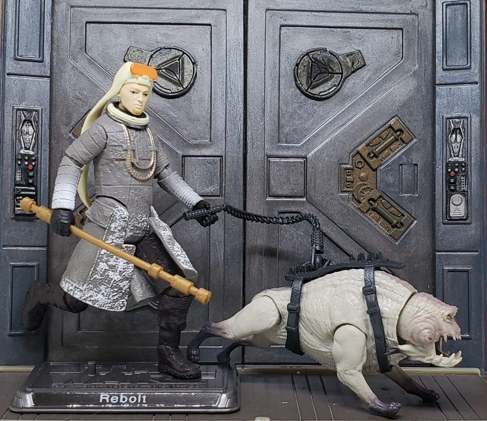 Star Wars Solo CUSTOM Rebolt & Corellian Hound 3.75 fig. More Articulate.2 weeks