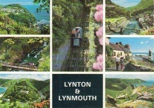 Lot 003 Villages Postcard Towns Various Scenes Views Count Devon