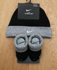 Nike Baby Boy Infant Hat \u0026 Booties Set