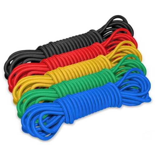 GUMMISEIL Meterware Expanderseil Gummileine Spannseil Planenseil elastisch Seil