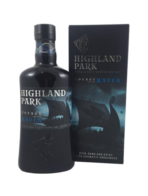 (82,59€/l) Highland Park Voyage of the Raven Single Malt Scotch Whisky 41,3% 0,7