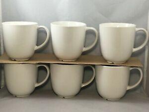 Set-of-6-Ikea-12011-White-Coffee-Cups-Mugs-10-oz
