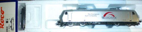 E 185 TX Logistik elok epv f Märklin ac digital roco 69808 nuevo 1:87 kc3 kg12 µg *