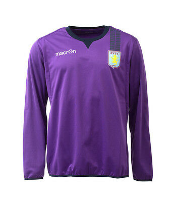 Aston Villa 2013/14 Mens Football Top Training Sweat Shirt BNWT (XL)