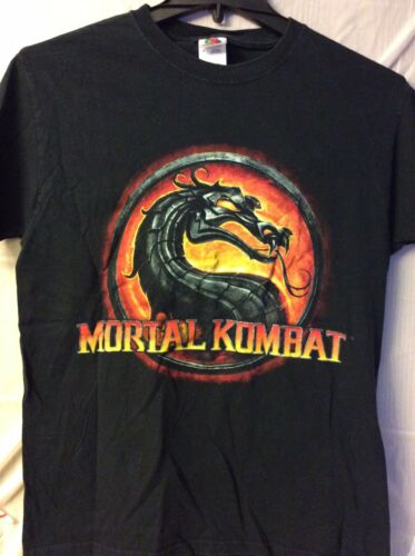 Mortal Kombat.  Shirt.   Black.   M