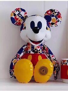 Collection de souvenirs Mickey Mouse, édition limitée 3/12 mars, en peluche
