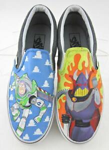 Vans Slip On Custom Painted Disney Toy