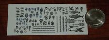 1/18 Scale Custom Tattoos: Tribal Variety Pack - Waterslide Decals