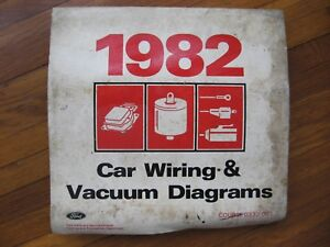 image is loading 1982-ford-mercury-lincoln-wiring-diagrams-mustang-capri-