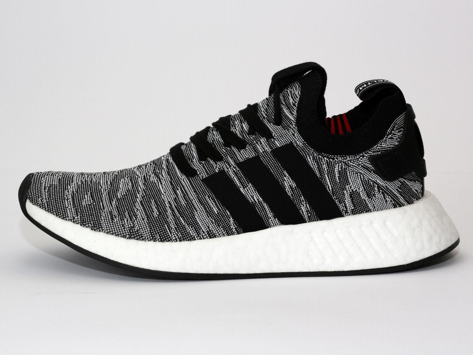 Adidas Originals NMD_R2 PK (BY9409) Sneaker - Schwarz/Grau - Neu (ss)