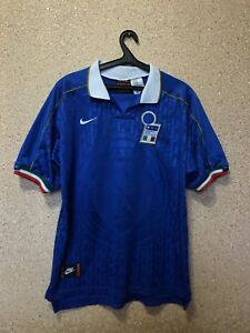 finest selection 48303 3edc3 VINTAGE ITALY NATIONAL TEAM 1994/1996 HOME FOOTBALL SHIRT ...