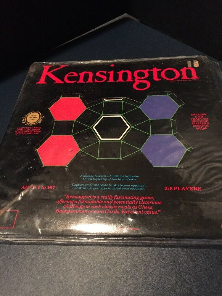 2429)VINTAGE KENSINGTON BOARD GAME 1979 GAME GAME 1979 OF THE YEAR IN 6 LANGUAGES COMPLETE e760c6