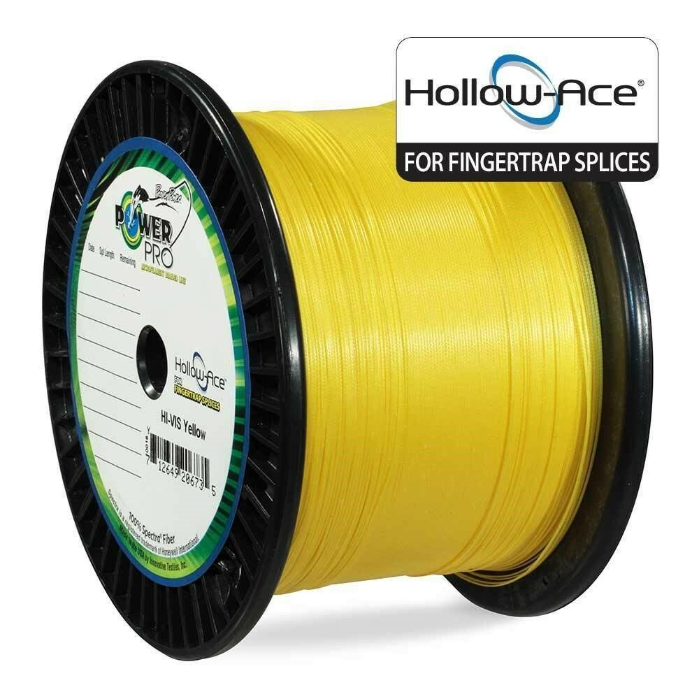 PowerPro Hollow Ace Braided Line 130lb 3000yd Spool Yellow