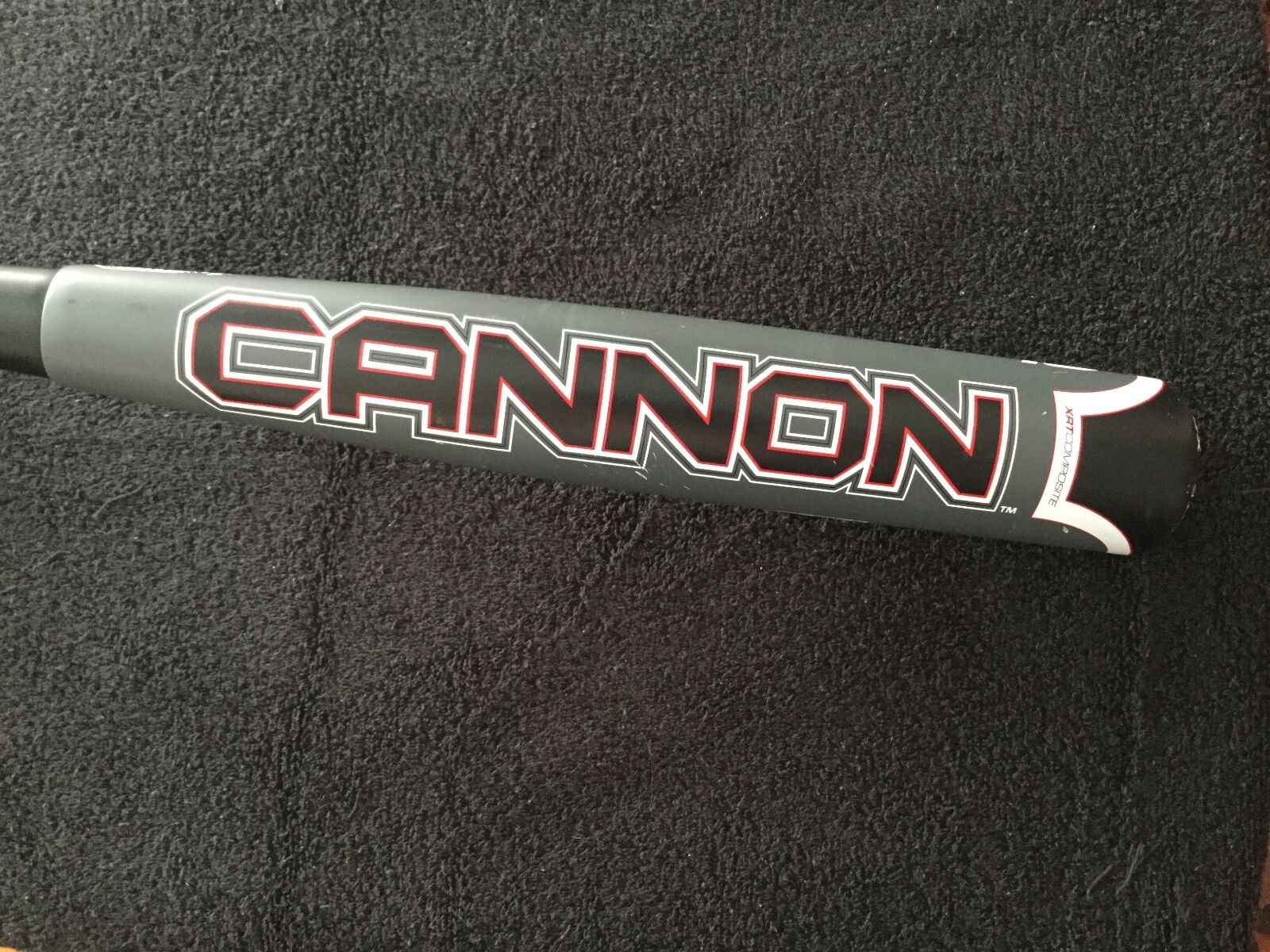 BOOMBAH CANNON SLC10 SS1ALLOY XRT COMPOSITE BASEBALL BAT 32  22 OZ