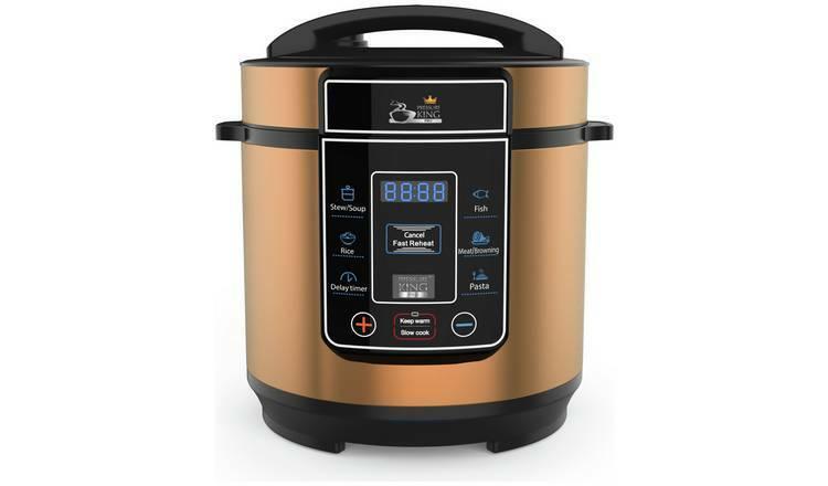 Pression King Pro 1 en 8-numérique 3 L Cocotte cuivre-pour les petites familles