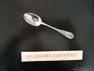 Decorative Arts Small Spoon Cafe A Frenais Rockery 5 7/8in Silvered Metal 0703 17