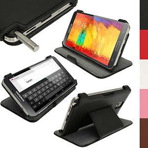 Cuir-PU-Etui-Housse-Flip-Rabat-Case-Cover-pour-Samsung-Galaxy-Note-3-N9000-N9005