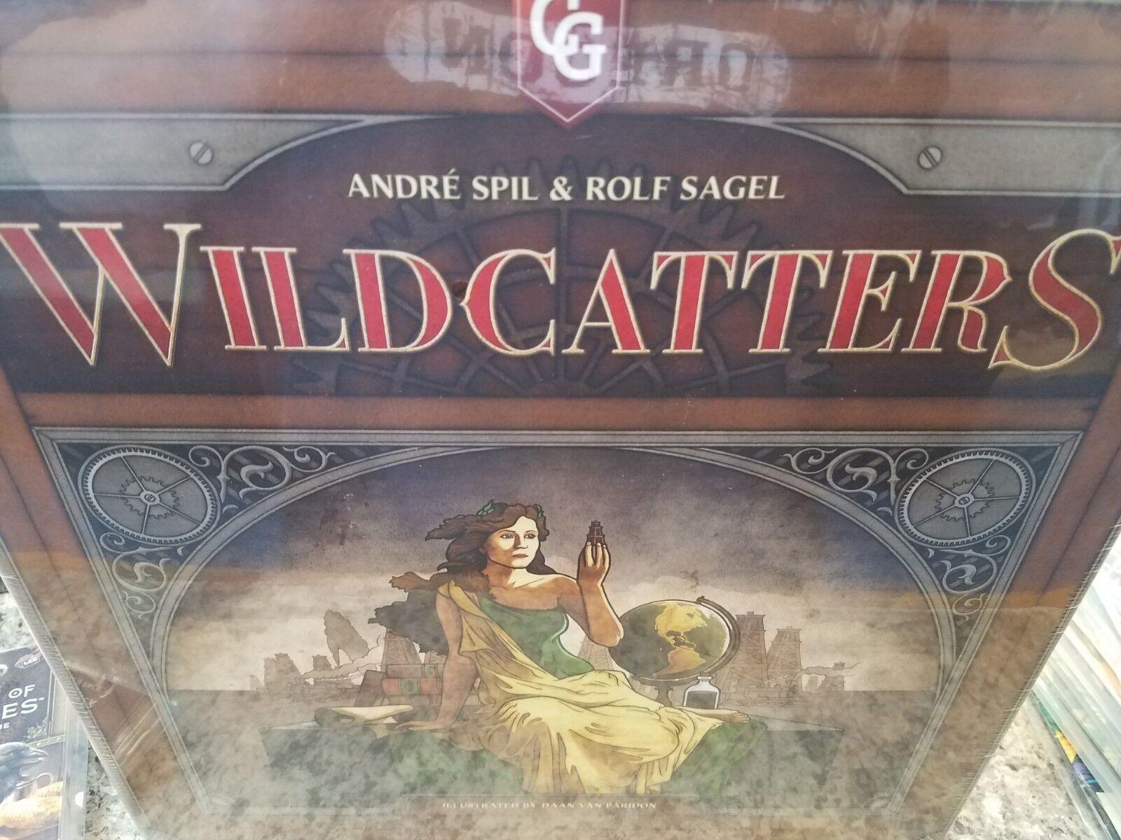 Wildcatters 2nd Edition-Capstone Jeux Jeu de société NEUF