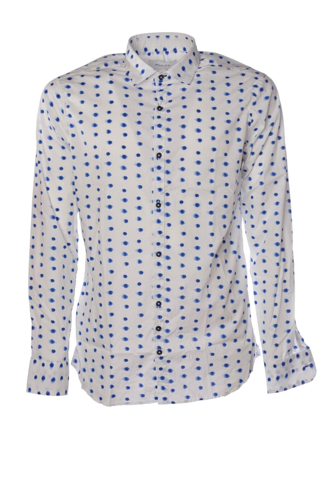 Aglini  -  Shirt - Male - 42 - Weiß - 1458115B164428
