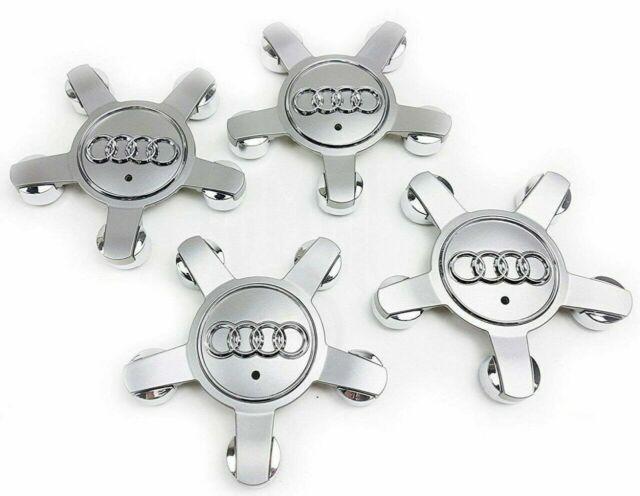 4x 135mm Nabendeckel Felgendeckel Nabenkappe Nabenabdeckung 8R0601165 für Audi