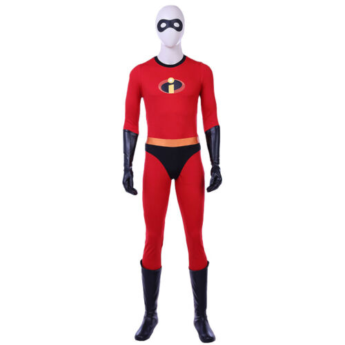 Adult Incredibles Cosplay Classic Costume Jumpsuit Costume Cosplay Bodysuit