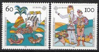 DemüTigen Bund Nr.1608/09 ** Europa, Cept 1992, Postfrisch Moderater Preis