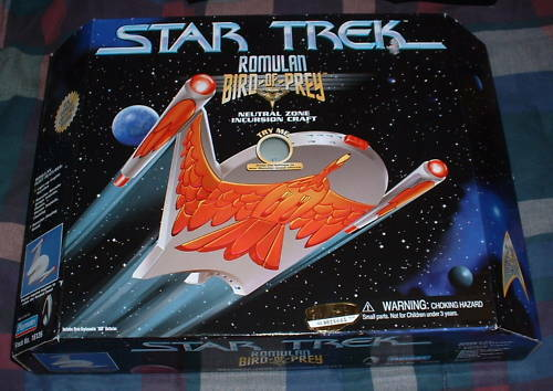 Star Trek ROMULAN BIRD-OF-PREY INCURSION CRAFT MISB