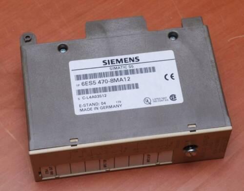 SIEMENS SIMATIC S5 6ES5 470-8MA12 ANALOG CARD free ship