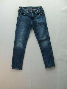 American Eagle Next Level flex Mens denim blue Jeans Size Actual 27 x 26 EUC