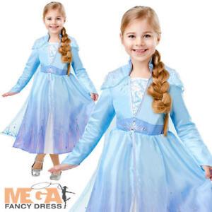 New Disney Store Frozen Princess Anna Halloween Costume Dress Cape 9//10 11//12